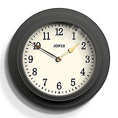 Newgate - Grey matte finish cocktail wall clock