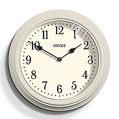 Jones - Grey matte finish Venetian wall clock