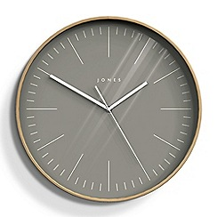 Jones - Large grey cabin wall clock