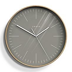 Newgate - Large grey cabin wall clock