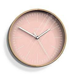 Newgate - Small pale pink cabin wall clock