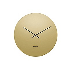 Karlsson - Gold 'Mirage' wall clock