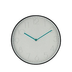 Home Collection - Grey case wall clock