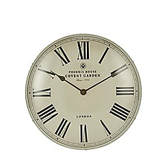 Debenhams - Cream Roman domed wall clock