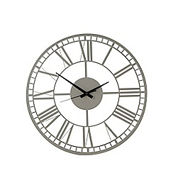 Debenhams - Grey wall clock