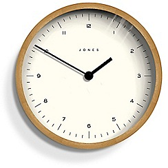 Jones - Large wooden retro wall clock