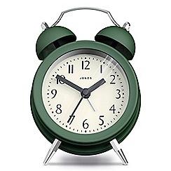 Jones - Classic twin bell alarm clock