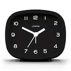 Jones - Black retro alarm clock