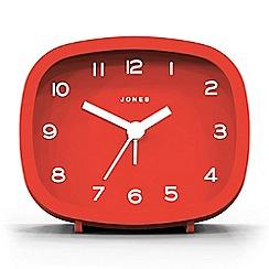Jones - Red Retro alarm clock