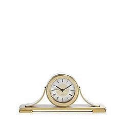 Debenhams - Gold 'Napolean' mantel clock