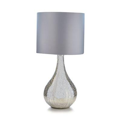 Fantastic Star by Julien Macdonald Cracked mirror table lamp | Debenhams UN96