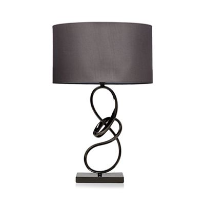Home collection metal twist table lamp debenhams aloadofball Choice Image