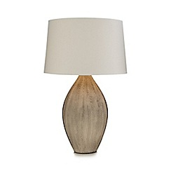 RJR.John Rocha - Cream 'Scraffito' table lamp