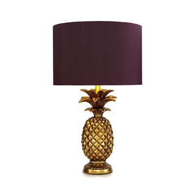 Butterfly Home By Matthew Williamson   Gold Pineapple Shaped Table Lamp by Butterfly Home By Matthew Williamson