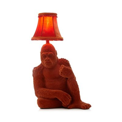 Abigail ahernedition orange gorilla table lamp debenhams aloadofball Choice Image