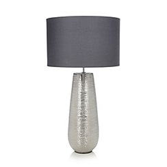RJR.John Rocha - Metal scratch effect table lamp