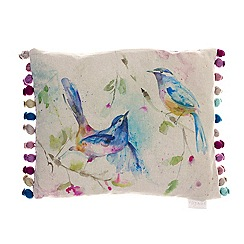 Voyage - Dancing birds cushion