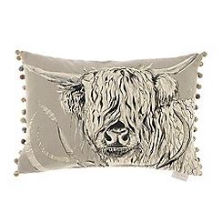 Voyage - Rudy silver cushion