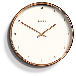 Jones - Rose gold studio clock