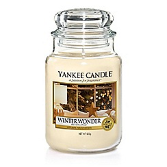 Yankee Candle - Large 'Winter Wonder' scented jar candle