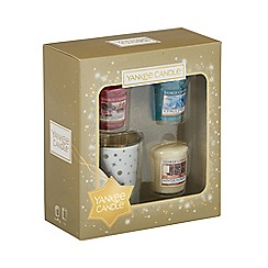 Yankee Candle - Pack of 3 votive candle and holder gift set