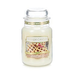 Yankee Candle - Large Belgian Waffles Scented Jar Candle
