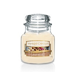 Yankee Candle - Small Belgian Waffles Scented Jar Candle