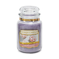 Yankee Candle - Large Sweet Morning Rose Scented Candle