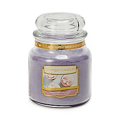 Yankee Candle - Medium Sweet Morning Rose Scented Candle