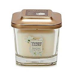 Yankee Candle - Small Sheer Linen Scented Candle