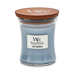WoodWick - Medium Soft Chambray Scented Candle