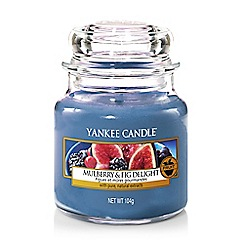 Yankee Candle - Mulberry and fig delight small jar scented candle