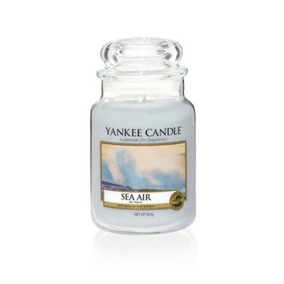 Yankee Candle   Large Classic 'sea Air' Scented Jar Candle by Yankee Candle