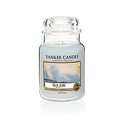Yankee Candle - Large classic 'Sea Air' scented jar candle