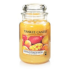 Yankee Candle - Large classic 'Mango Peach Salsa' scented jar candle