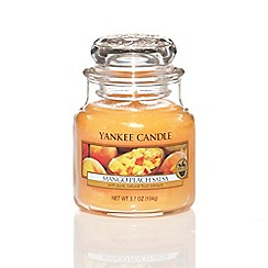 Yankee Candle - Small classic 'Mango Peach Salsa' scented jar candle