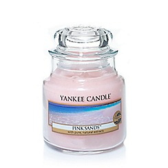 Yankee Candle - Small classic 'Pink Sands' scented jar candle