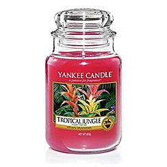 Yankee Candle - Large classic 'Tropical Jungle' scented jar candle