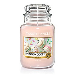 Yankee Candle - Large classic 'Rainbow Cookie' scented jar candle