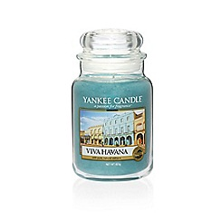 Yankee Candle - Large classic 'Viva Havana' scented jar candle