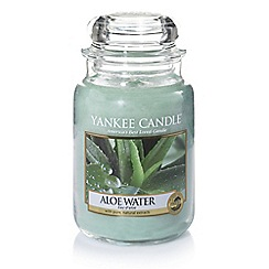 Yankee Candle - Large classic 'Aloe Water' scented jar candle