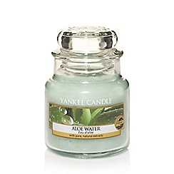 Yankee Candle - Small classic 'Aloe Water' scented jar candle