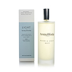 Aromaworks - Spearmint and lime room spray