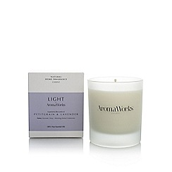 Aromaworks - Petitgrain and lavender candle