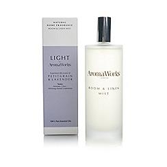 Aromaworks - Petitgrain and lavender room spray
