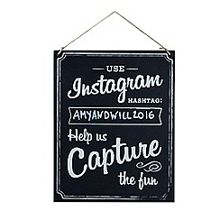 Ginger Ray - Large wooden instagram sign