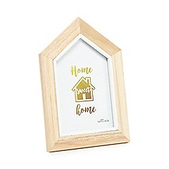 Sass & Belle - White wood photo frame