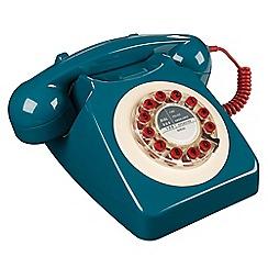 Wild & Wolf - Blue petrol 746 telephone