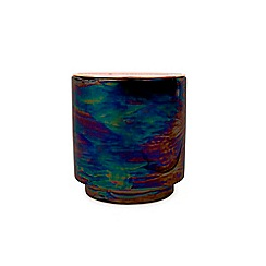 Paddywax - 'Glow' incense and smoke iridescent ceramic scented candle 17oz