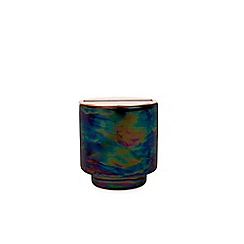 Paddywax - 'Glow' incense and smoke iridescent ceramic scented candle 5oz